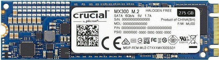 Жесткий диск SSD Crucial MX300 (CT1050MX300SSD4) 1050Gb