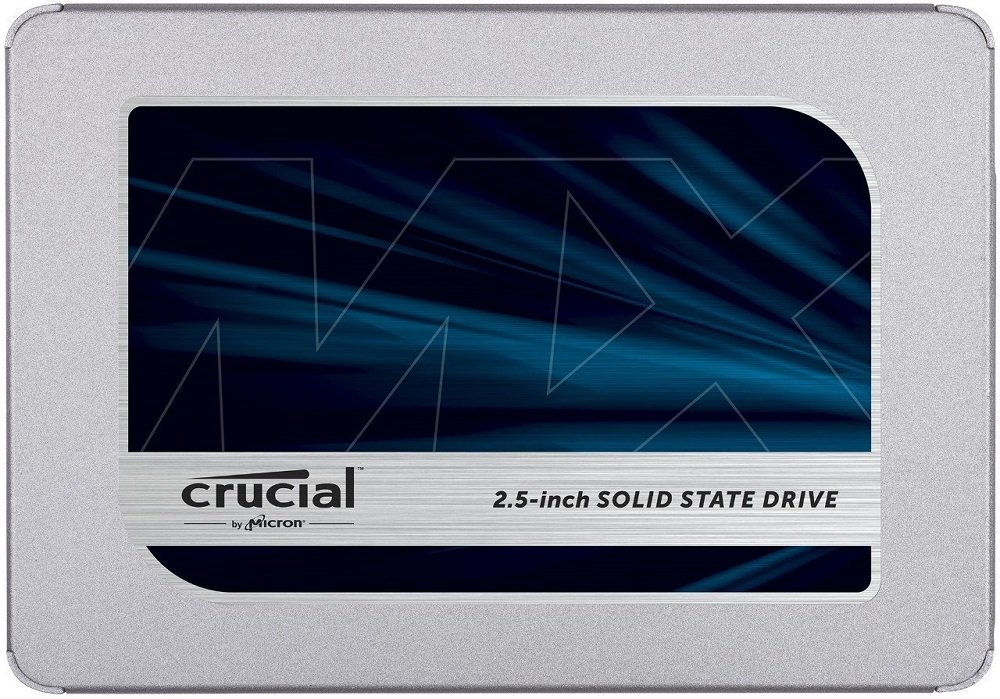 Жесткий диск SSD Crucial MX500 (CT1000MX500SSD1) 1000Gb