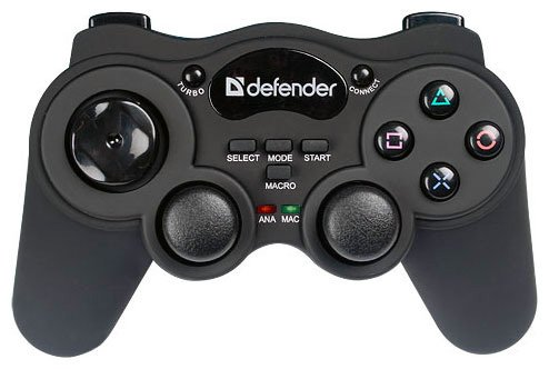 Геймпад Defender Game Racer Wireless