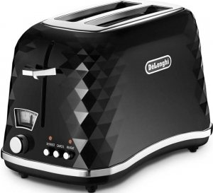 Тостер DeLonghi Brillante CTJ 2003.BK