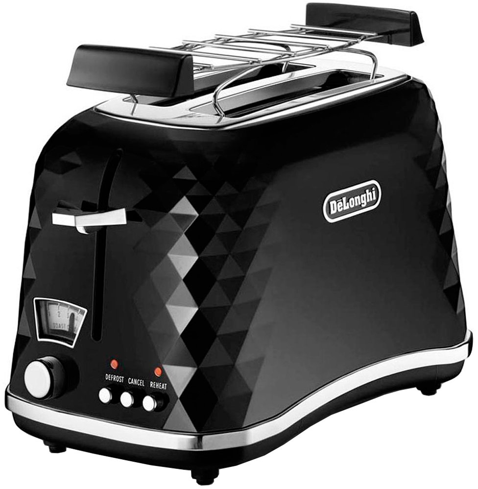 Тостер DeLonghi Brillante CTJ 2103.BK фото