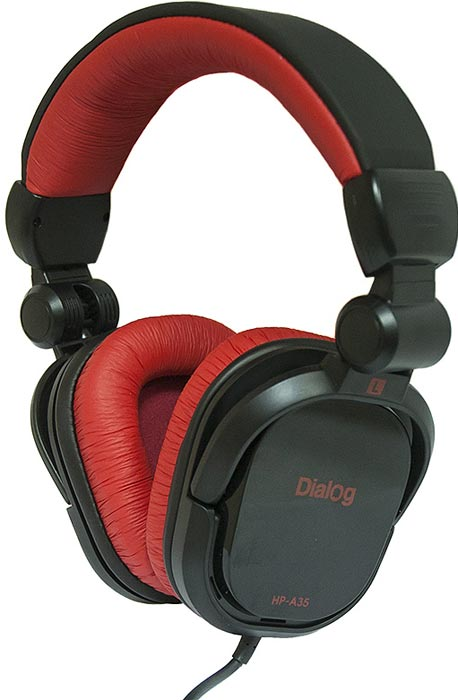 �������� Dialog HP-A35 BLACK-RED