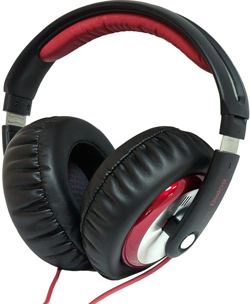 Наушники Dialog HP-A75 BLACK-RED