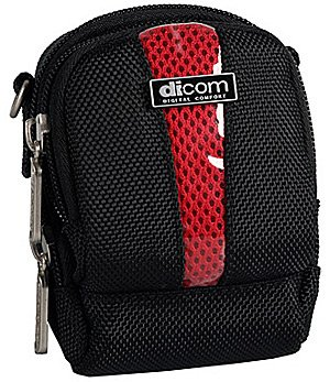 Чехол для фотоаппарата Dicom S1012 black / red