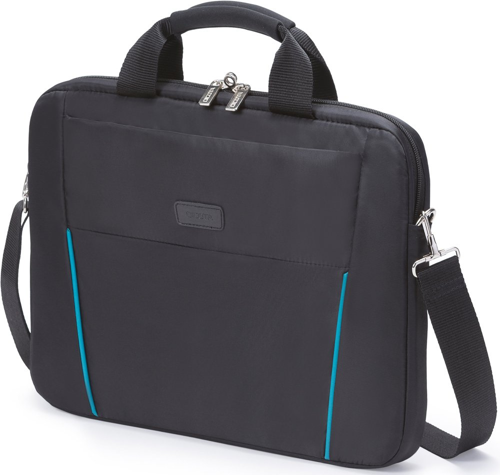 Сумка для ноутбука Dicota Slim Case BASE 14-15.6 Black/Blue (D30997)