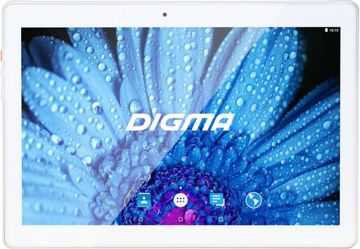 Планшет Digma Plane 1512 16GB 3G White (PS1120MG)