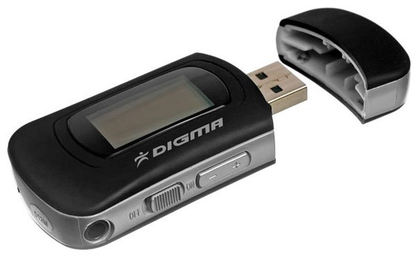 Flash - плеер Digma MP580 1Gb