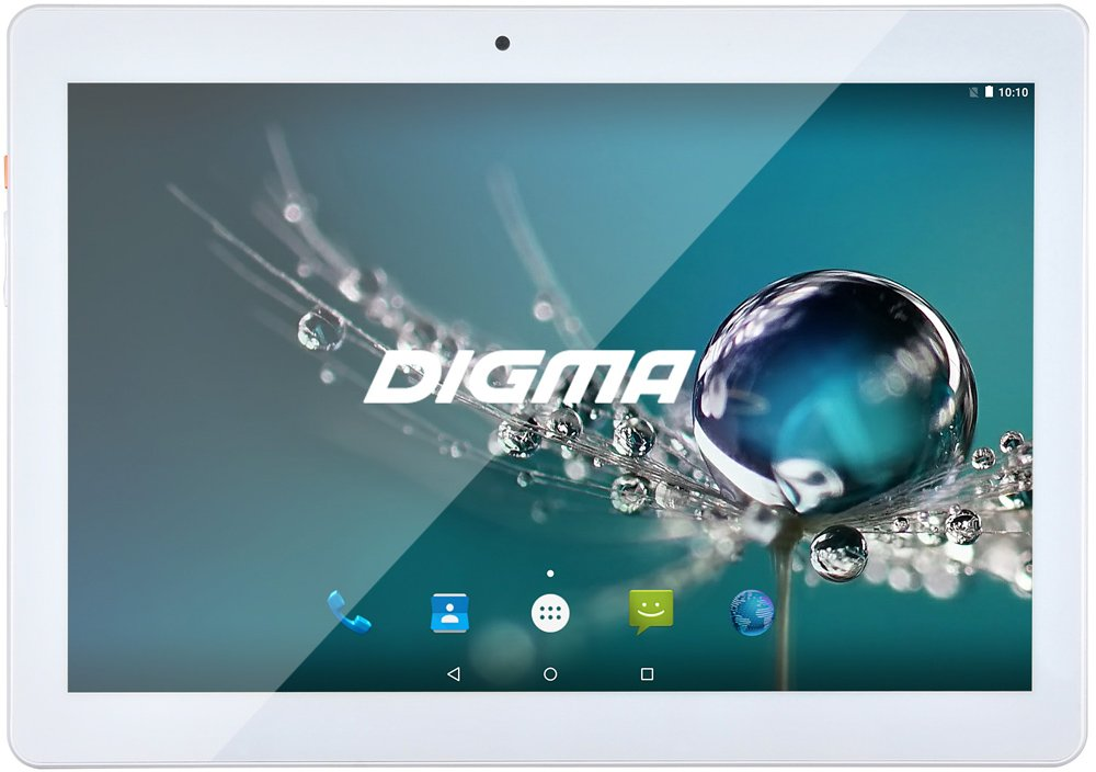 Планшет Digma Plane 1505 White 8GB 3G