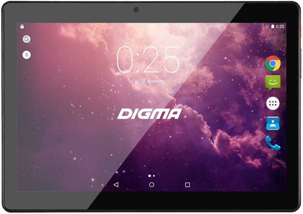 Планшет Digma Plane 1601 8Gb 3G Gray фото