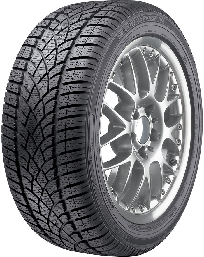 Зимняя шина Dunlop SP Winter Sport 3D 255/50R19 107H