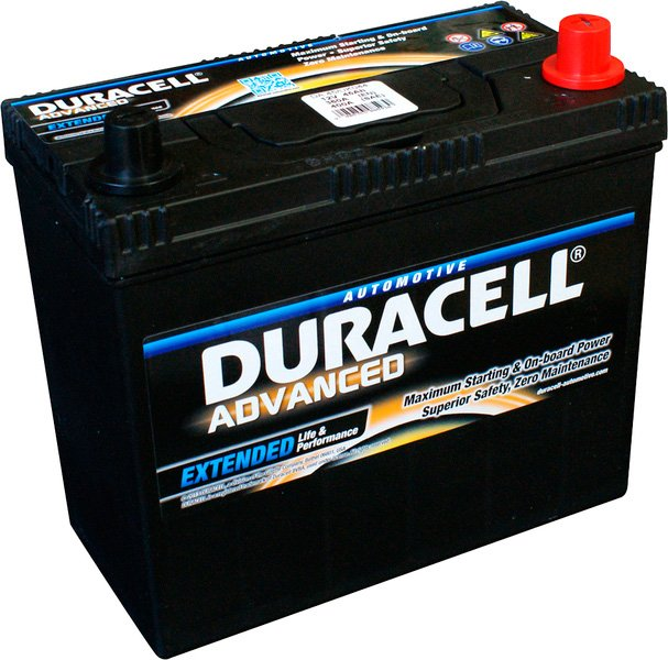Аккумулятор Duracell Advanced JL+ (45Ah)