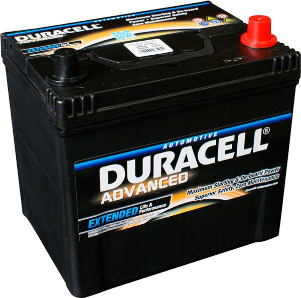 Аккумулятор Duracell Advanced JR+ (60Ah)
