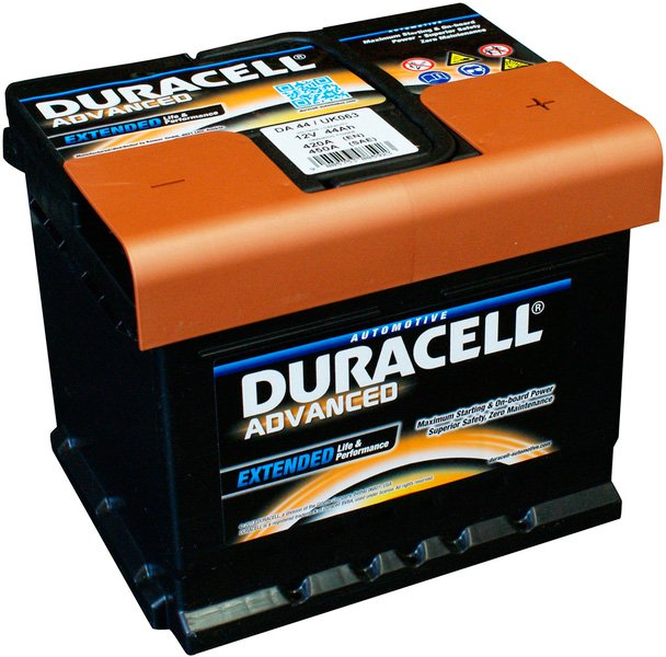 Аккумулятор Duracell Advanced R+ (44Ah)