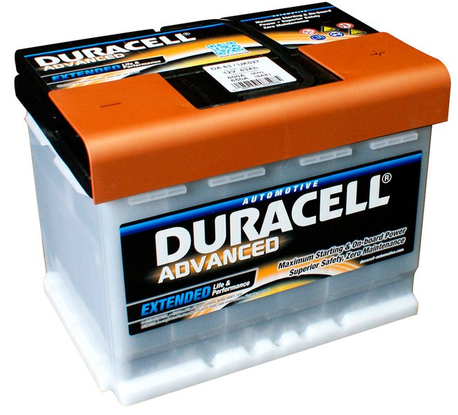 Аккумулятор Duracell Advanced R+ (63Ah) фото