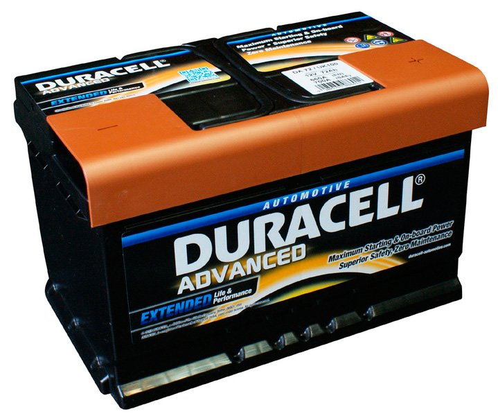 Аккумулятор Duracell Advanced R+ (72Ah)