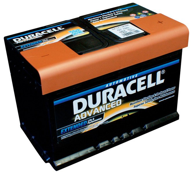 Аккумулятор Duracell Advanced R+ (74Ah)