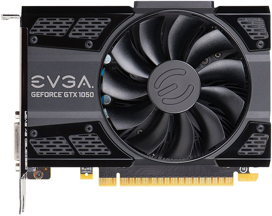 Видеокарта Evga 02G-P4-6152-KR GeForce GTX 1050 SC Gaming 2Gb GDDR5 128bit