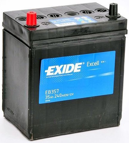 ����������� Exide Excell EB356 R+ (35Ah)