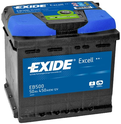 ����������� Exide Excell EB500 R+ (50Ah)
