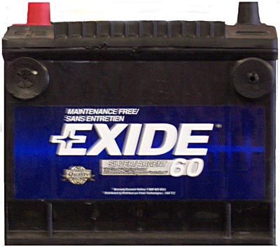 ����������� Exide Japan 45 JR (45Ah)