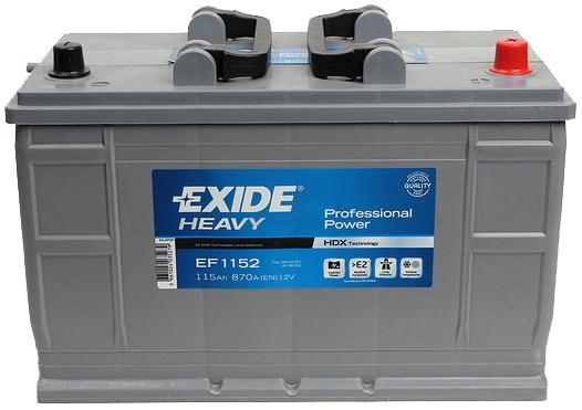 Аккумулятор Exide Professional Power EF1152 R+ (115Ah)