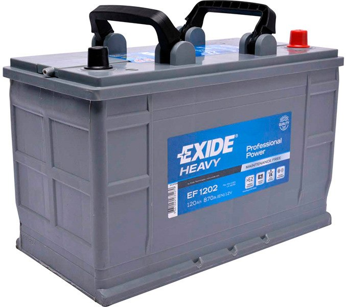 Аккумулятор Exide Professional Power EF1202 (120Ah) фото