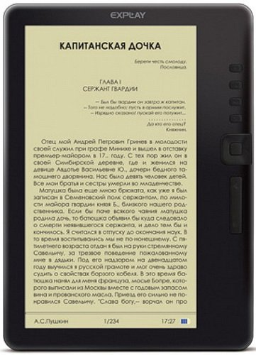 Электронная книга Explay TXT.Book.B74