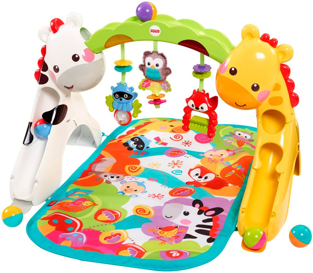 Развивающий коврик Fisher-Price CCB70 Newborn-to-Toddler Play Gym фото