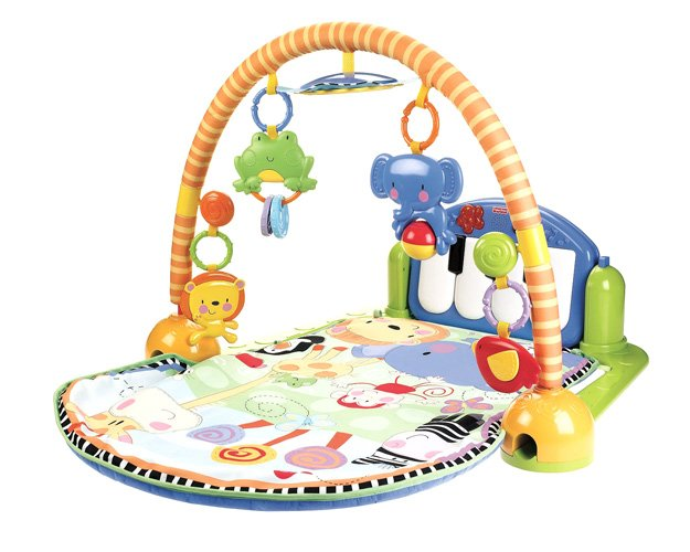 Развивающий коврик Fisher-Price Kick and Play Piano Gym W2621