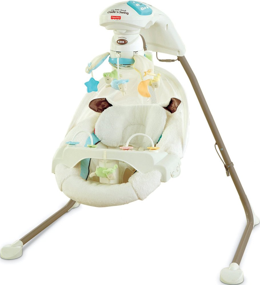 Качели Fisher-Price My Little Lamb Y5708