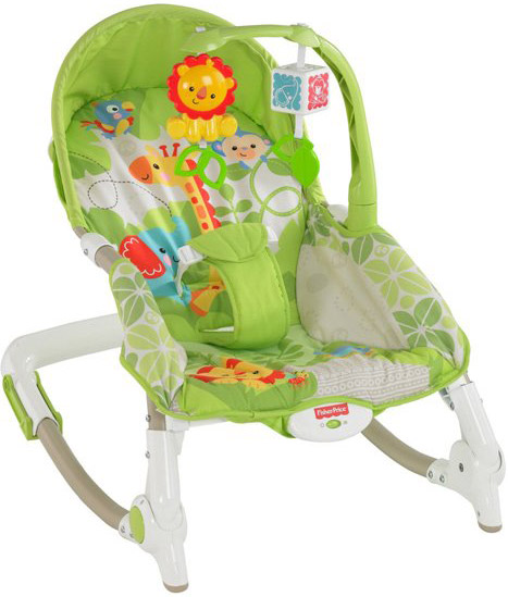 Шезлонг Fisher-Price Newborn-to-Toddler X7047