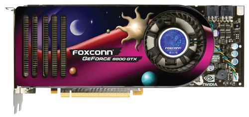 ���������� Foxconn N88XMAD2-ON GeForce 8800GTX 768Mb 384bit