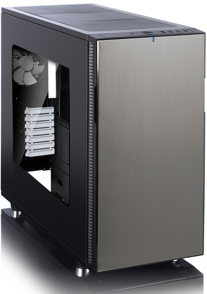 Корпус для компьютера Fractal Design Define R5 Titanium Window (FD-CA-DEF-R5-TI-W) фото