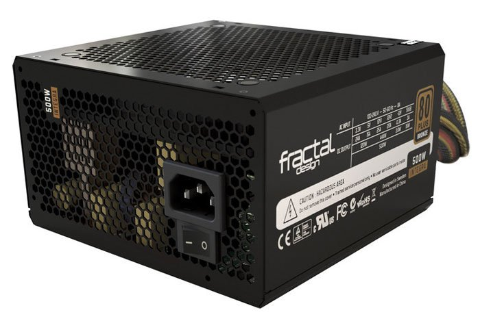 Блок питания Fractal Design Integra R2 500W (FD-PSU-IN2B-500W)