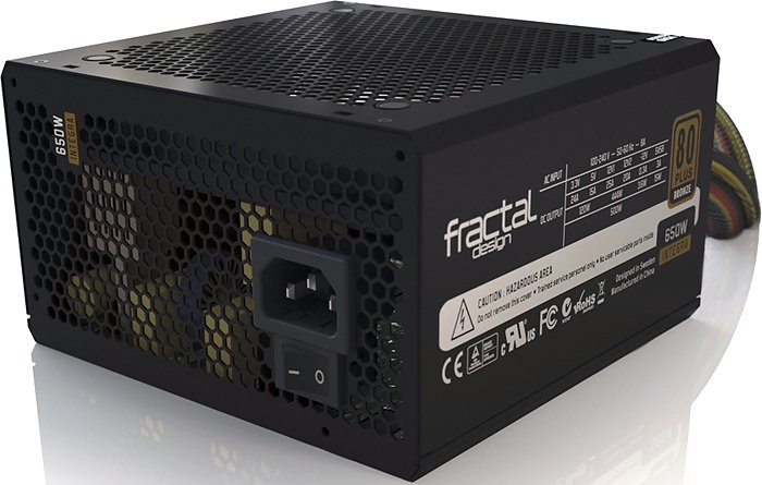 Блок питания Fractal Design Integra R2 650W (FD-PSU-IN2B-650W)
