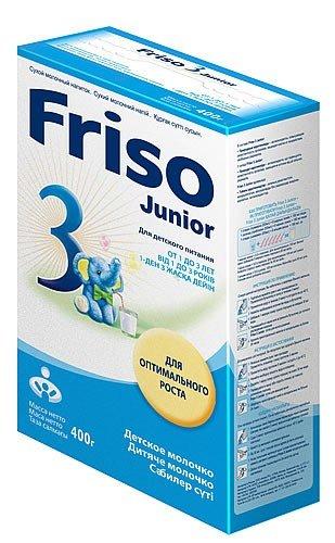 Сухая молочная смесь Friso Фрисолак 3, 400 г