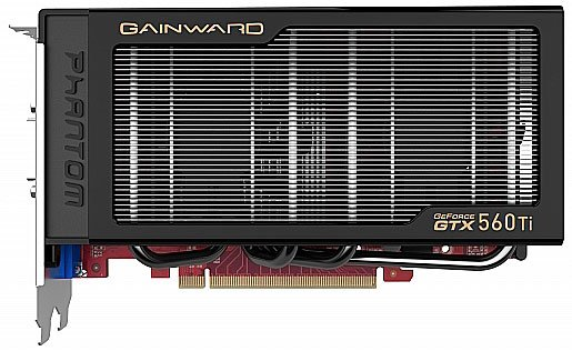 Видеокарта Gainward Phantom GeForce GTX 560 Ti 1024MB GDDR5 256bit