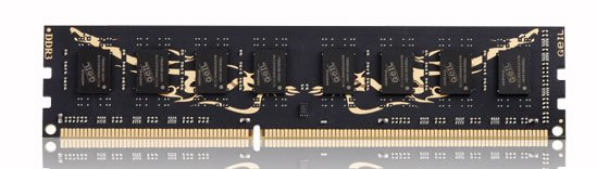Модуль памяти GeIL Dragon RAM GD34GB1600C11SC DDR3 PC3-12800 4GB