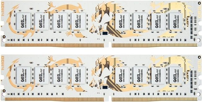 Комплект памяти Geil Dragon White GWW416GB2800C16DC DDR4 PC4-22400 2х8Gb