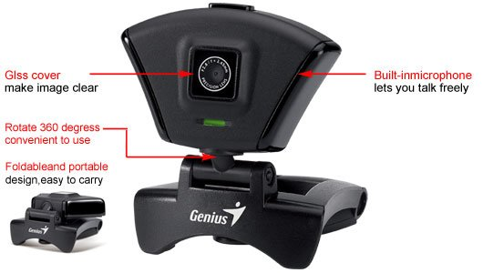 Genius FaceCam 315 WebCam Driver for PC