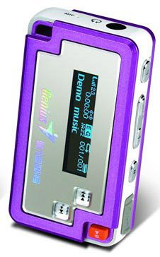 Flash - ����� Genius MP3-DJ VIVID 512Mb
