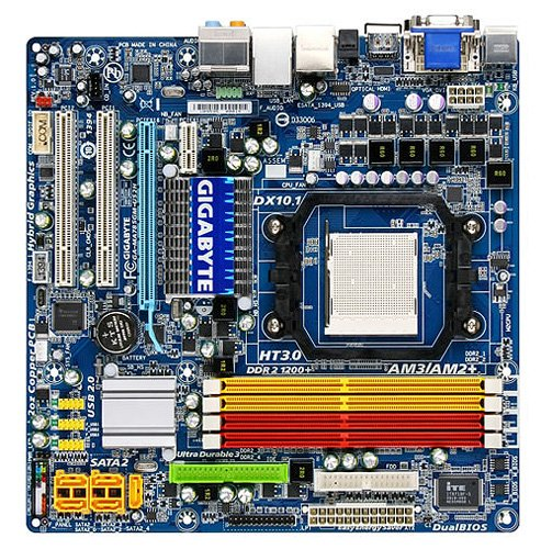 ����������� ����� Gigabyte GA-MA785GM-US2H (rev. 1.0)