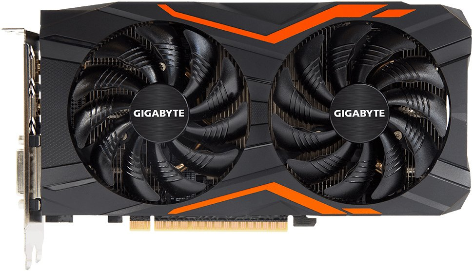 Видеокарта Gigabyte GV-N1050G1 GAMING-2GD GeForce GTX 1050 2Gb GDDR5 128bit