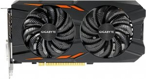Видеокарта Gigabyte GV-N1050WF2OC-2GD GeForce GTX 1050 2Gb GDDR5 128bit  icon