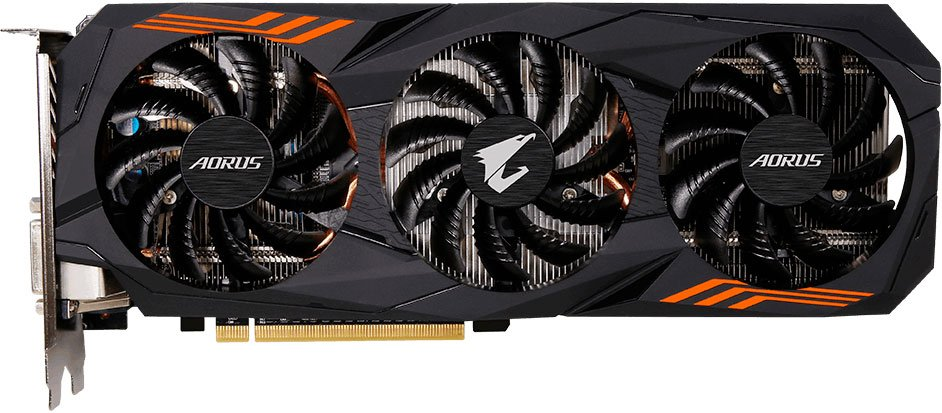 Видеокарта Gigabyte GV-N1060 AORUS-6GD GeForce GTX 1060 6Gb DDR5 192bit