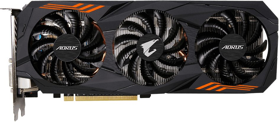 Видеокарта Gigabyte GV-N1060AORUS-6GD (rev. 2.0) GeForce GTX 1060 6Gb GDDR5 192bit фото