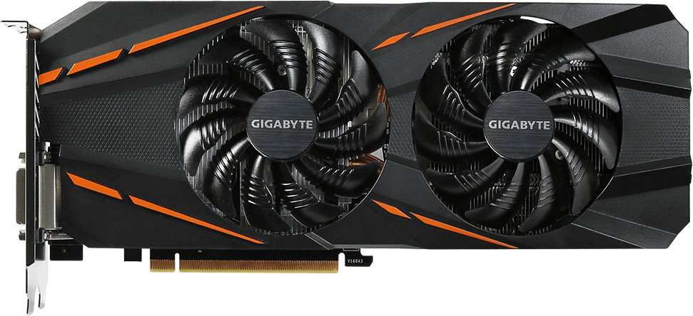 Видеокарта Gigabyte GV-N1060D5-3GD (rev. 1.0) GeForce GTX 1060 3GB GDDR5 192bit
