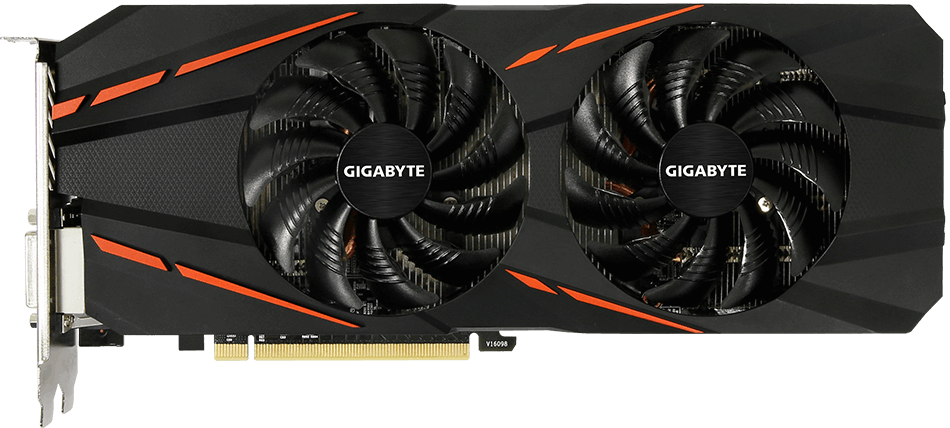 Видеокарта Gigabyte GV-N1060G1 GAMING-6GD (rev 2.0) GeForce GTX 1060 6Gb GDDR5 192bit  фото