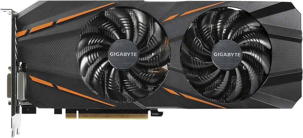 Видеокарта Gigabyte GV-N1060G1 GAMING-6GD GeForce GTX 1060 6Gb GDDR5X 192bit