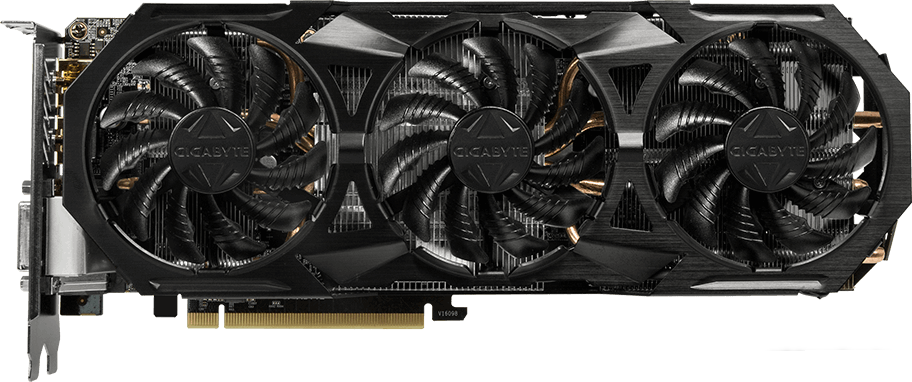 Видеокарта Gigabyte GV-N1060G1 ROCK-6GD GeForce GTX 1060 6Gb DDR5 192bit фото